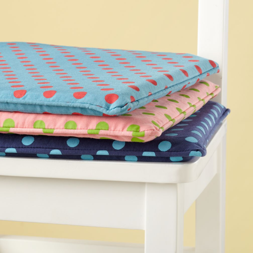 Storage Chair Cushions (Dots)